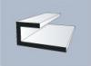 Молдинг стартовый Альта-профиль Белый, 3000 мм