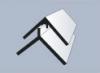Молдинг угол универсальный Альта-профиль, 3000 мм